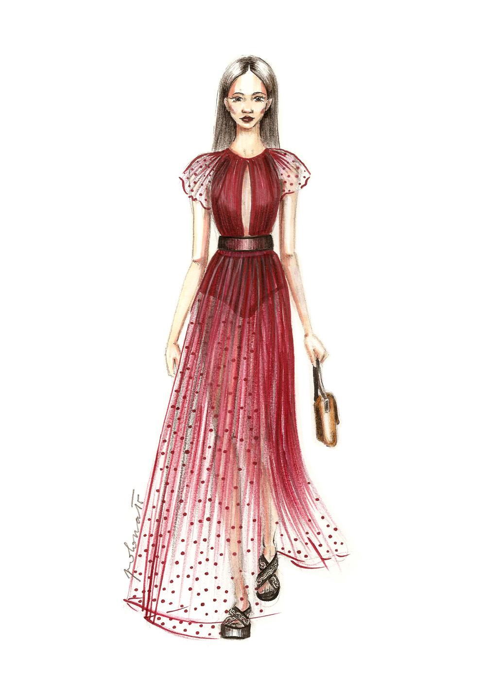 fashion illustration polona Žalig