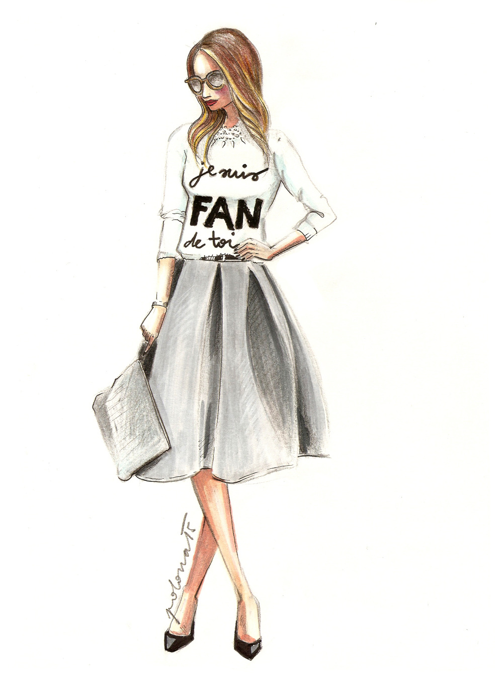Fashion Illustration Polona Alig