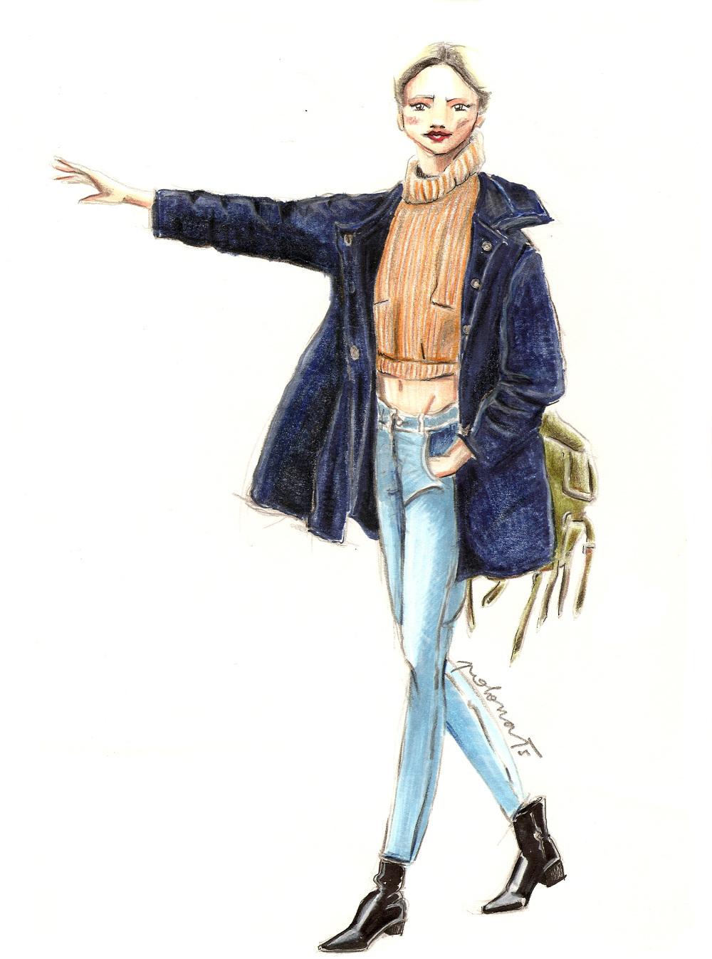 Copic Markers Fashion Design